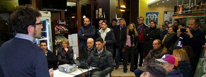 Bici in rete Bar Napoli 30-11-2015 news 1