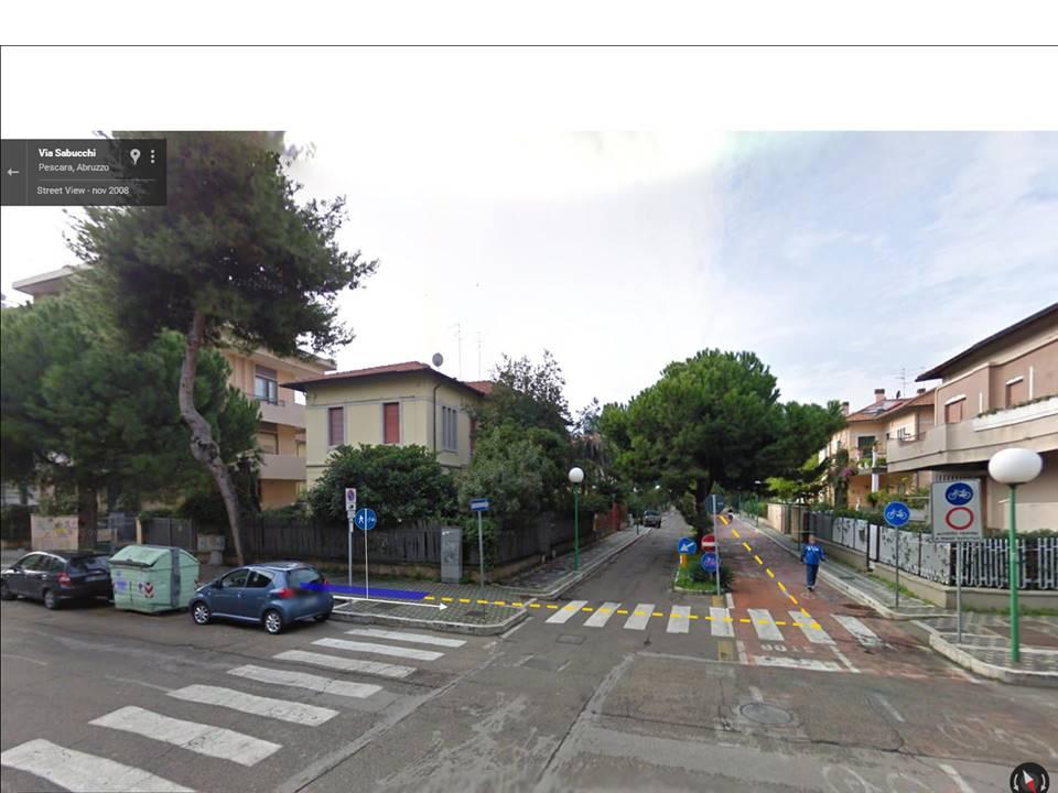Raccordo con pista ciclabile Via Sabucchi