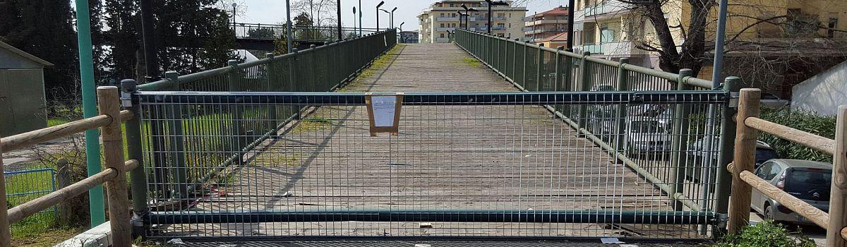 Torna il ponte ciclopedonale